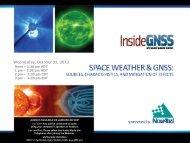 Wednesday, October 31, 2012 - Inside GNSS