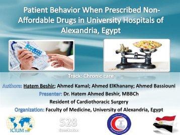 Hatem Beshir; Ahmed Kamal; Ahmed ElKhanany; Ahmed ... - INRUD
