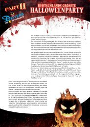 Am 31. Oktober erobern wieder tausende Monster ... - Deiters GmbH