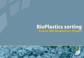 BioPlastics Sorting - Innovation Takes Root
