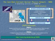 EWON - Institute of Nuclear and Particle Physics