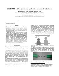 POMDP Models for Continuous Calibration of Interactive ... - inspire