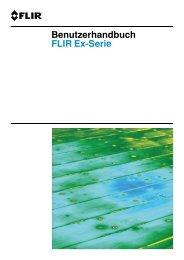 Benutzerhandbuch FLIR Ex-Serie