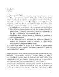 Karin Terfloth Exklusion 1. Ursprungskontext des ... - Inklusion Lexikon