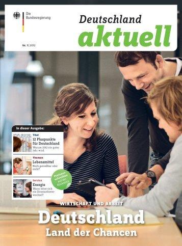 Deutschland aktuell Nr. 1 | 2012 - InnoZ