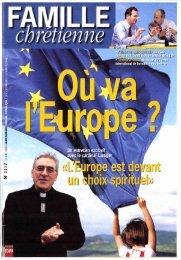 JML 1999 06 10 Famille Chrétienne L'Europe est devant un choix ...