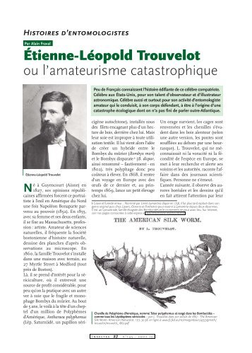 Etienne-Léopold Trouvelot - Inra