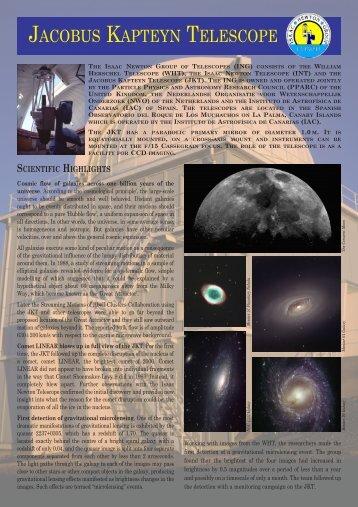 jacobus kapteyn telescope - Isaac Newton Group of Telescopes ...