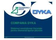 Prezentare DYKA Vacurain - Instal Focus