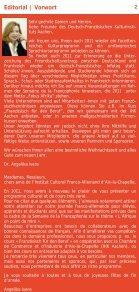 Kultur und Kurse 2011 - Institut français - Seite 2