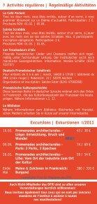 Kultur und Kurse 2011 - Institut français - Seite 3