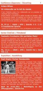 Kultur und Kurse 2011 - Institut français - Seite 4