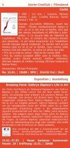 Kultur und Kurse 2011 - Institut français - Seite 5