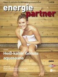 Ausgabe 04.06 - ENRW Energieversorgung Rottweil GmbH & Co. KG