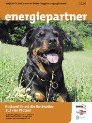 Ausgabe 02.07 - ENRW Energieversorgung Rottweil GmbH & Co. KG