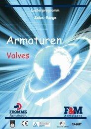 Valves - Fromme Armaturen