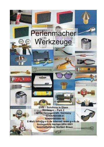 Perlenmacher Werkzeuge - GVB
