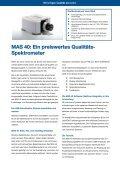 MAS 40 Mini-Array-Spektrometer - Instrument Systems - Seite 2