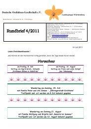 4/2011 - Landesgruppe Württemberg