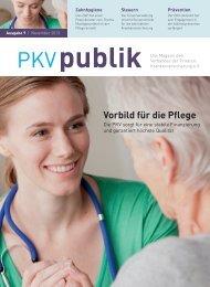 Vorbild für die Pflege - PKV - Verband der privaten ...