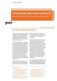 Die Vierte Geldwäscherichtlinie - Financial Services aktuell ... - PwC