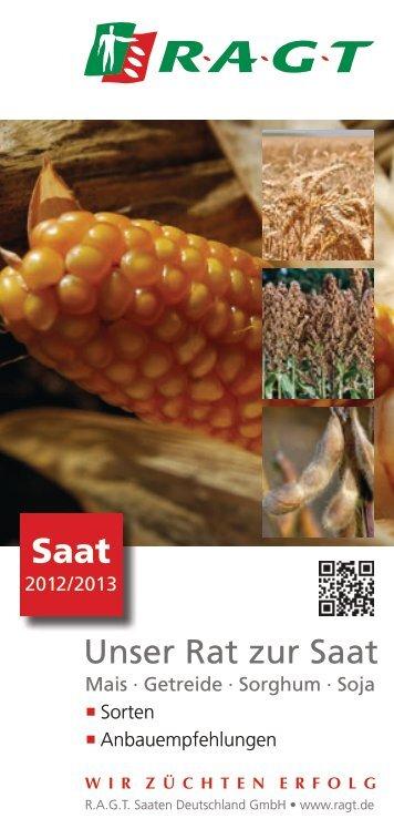 Unser Rat zur Saat - RAGT Saaten Deutschland