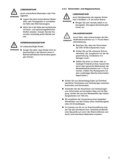 Bedienungs- und Montageanleitung - Sieger Heizsysteme GmbH