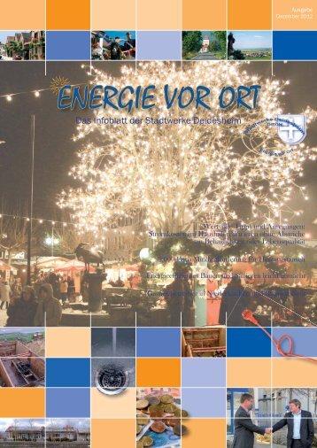 """Kundenmagazin Ausgabe 5 """"Energie vor Ort"""" - Stadtwerke ..."""