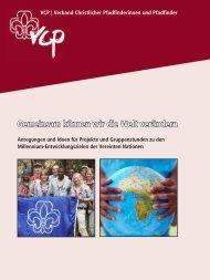 Gemeinsam können wir die Welt verändern - Verband Christlicher ...