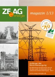 magazin 1/13 - ZEAG Energie AG