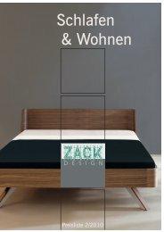 Schlafen & Wohnen - Zack Design