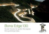 Laden Sie sich hier die Bona Edge 130 Broschüre herunter