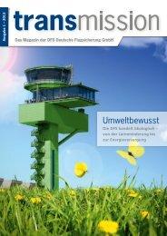 Ausgabe 01/2013 - DFS Deutsche Flugsicherung GmbH