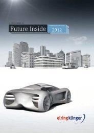 Jahresabschluss der ElringKlinger AG 2012