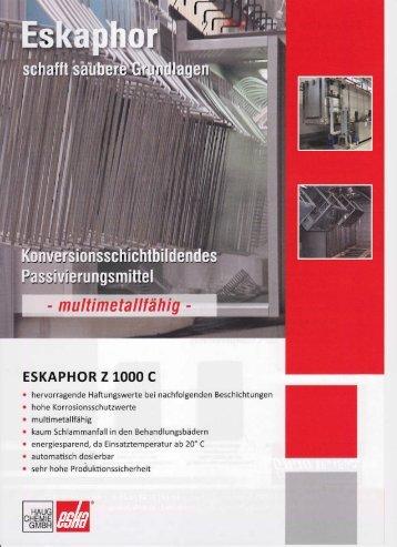 Eskaphor Z 1000 C - Haug Chemie GmbH