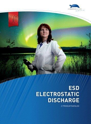 ESD ELECTROSTATIC DISCHARGE - HB-Schutzbekleidung