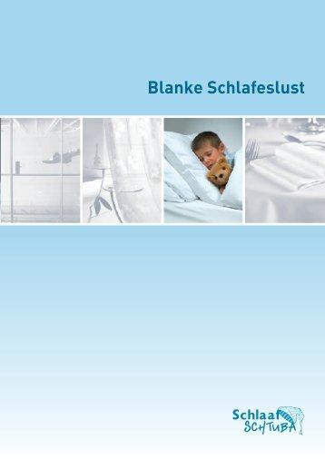 Blanke Schlafeslust - Heinzmann