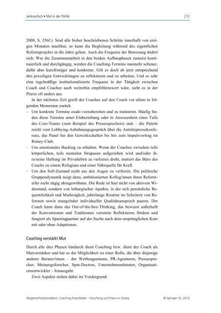 Mut in der Politik - Dr. Regina Maria Jankowitsch
