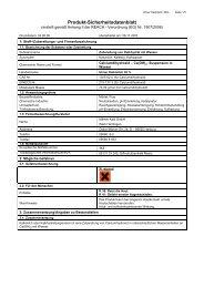 Produkt-Sicherheitsdatenblatt - Maerker-gruppe.de