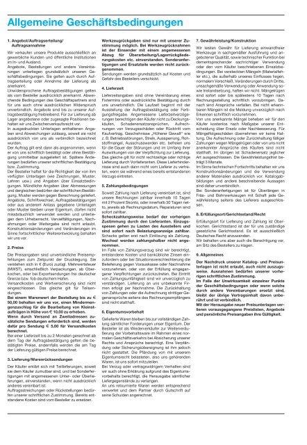 Präzision schafft Werte. 2013/2014 - JSO Bohr- und Frästechnik