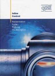optek Fimen Broschuer - German - Optek-Danulat, Inc.
