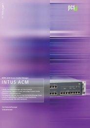 INTUS ACM - PCS Systemtechnik GmbH