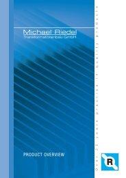 Michael Riedel - Riedel Trafobau