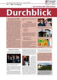 Ausgabe 2008 - TMP Fenster + Türen