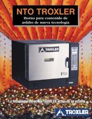 NTO TROXLER - Troxler Electronic Laboratories
