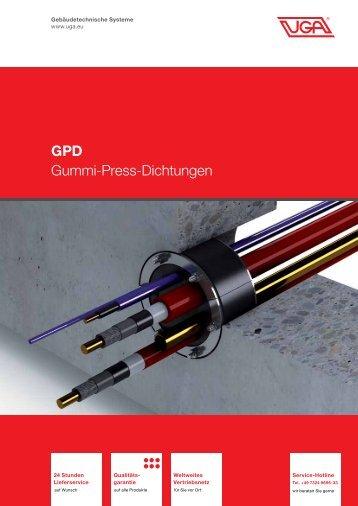 GPD Gummi-Press-Dichtungen - UGA System Technik
