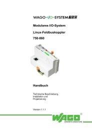 750-841, Handbuch Ethernet, deutsch - Wago