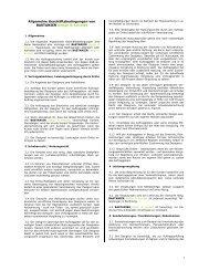 Allgemeinen Geschäftsbedingungen - BASTANIER design & konzept