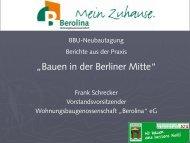 """""""Bauen in der Berliner Mitte"""""""