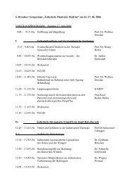 """6. Dresdner Symposium """"Ästhetisch-Plastische Medizin"""" am 16./17 ..."""